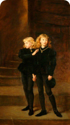 John Everett Millais. The princes in the tower