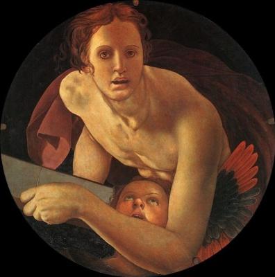Jacopo Pontormo. Evangelist Matvey