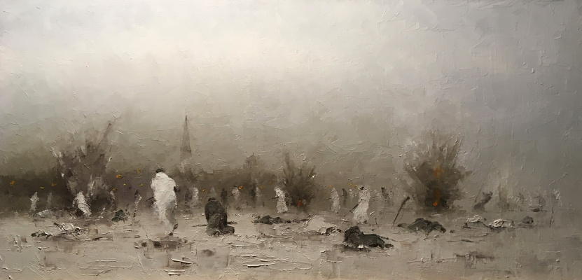 Alexander Cepel. The assault on Kronstadt 1921.