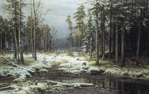 Ivan Ivanovich Shishkin. The first snow