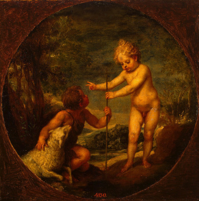 Alonso Cano. Christ and John the Baptist in his childhood