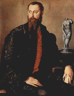 Agnolo Bronzino. Portrait of an Unknown Aristocrat
