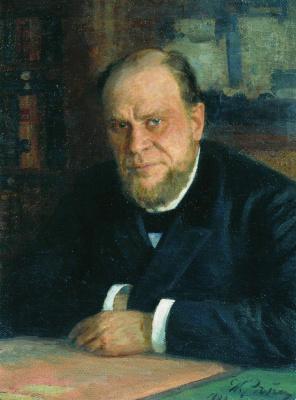 Ilya Efimovich Repin. Portrait Of A. F. Koni