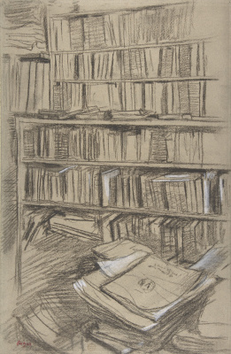 Эдгар Дега. Книжные полки