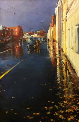 Sergey Alekseevich Makarov. Street hog...the Rain is gone...
