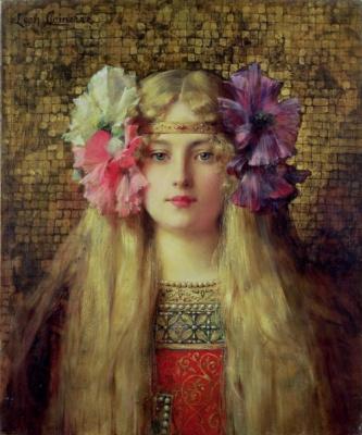 Leon Francois Comerre. Blonde