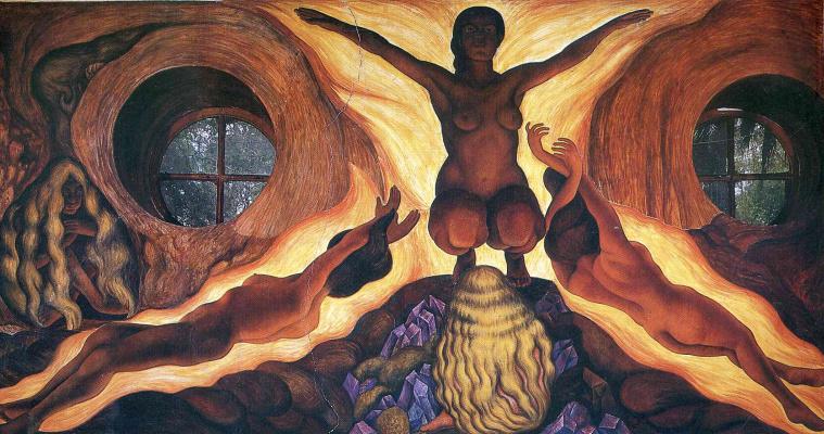 Diego Maria Rivera. Underground forces