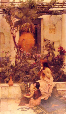 John William Waterhouse. Capri