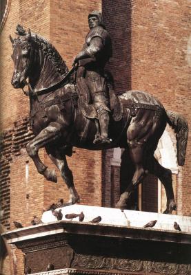 Андреа дель Верроккьо. Конная статуя Коллеони