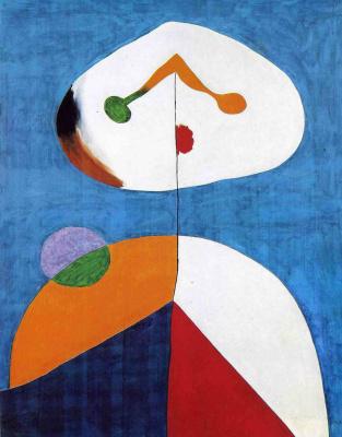 Joan Miro. Portrait II