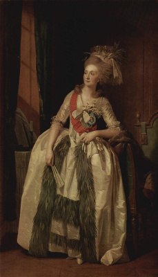 Иоганн Генрих Вильгельм Тишбейн. Портрет графини Салтыковой