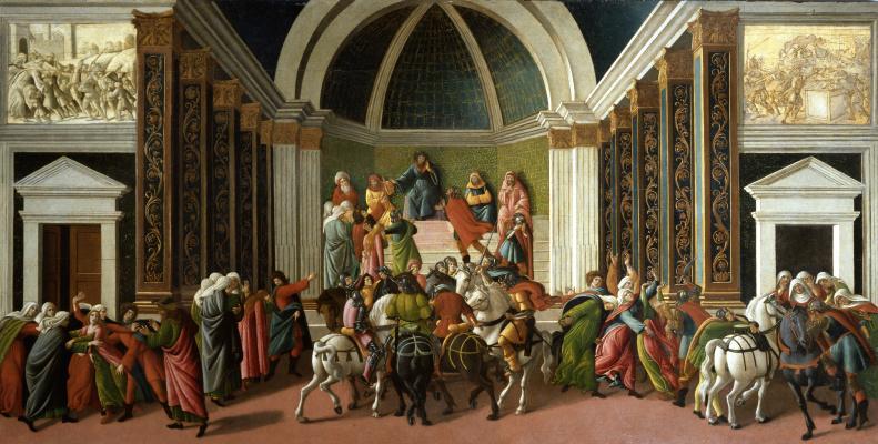 Sandro Botticelli. History Of Virginia