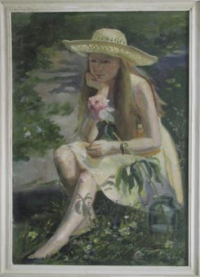 Svetlana Anatolyevna Dodu. En plain air