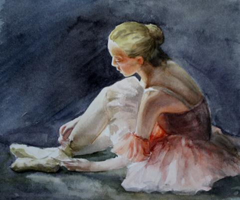 Irina Valerievna Denisenko. Ballerina