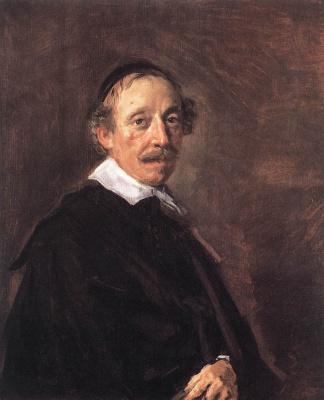 Frans Hals. Portrait of a preacher