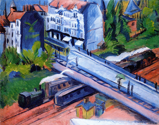 Ernst Ludwig Kirchner. Rail journey