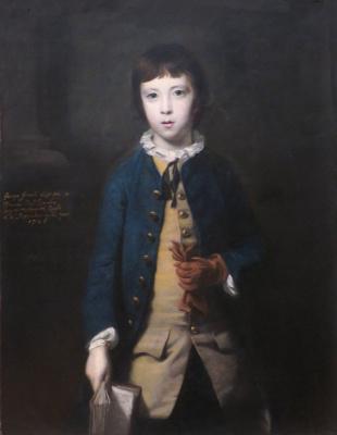 Джошуа Рейнольдс. Джордж Гревиль, 2-й граф Уорвик в возрасте 8 лет
