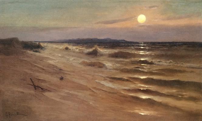 Mikhail Alexandrovich Alisov. Moonlight