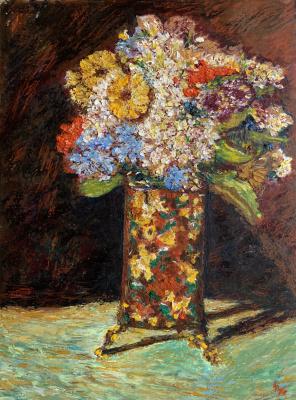 Albert Safiullin. Vase with Flowers