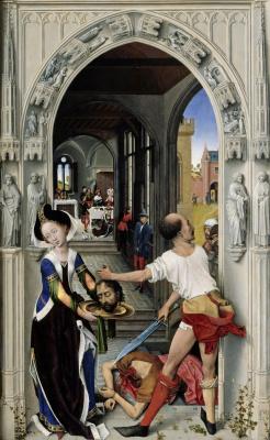 Рогир ван дер Вейден. Алтарь святого Иоанна. Фрагмент