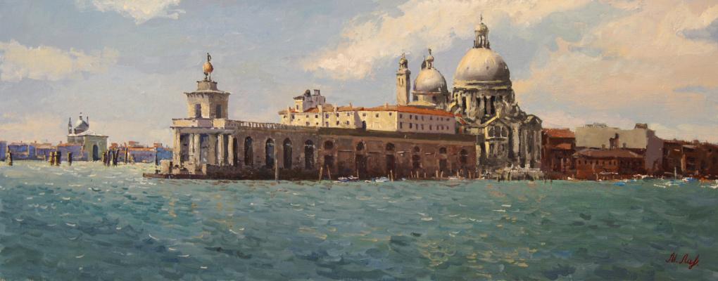 Mikhail Borisovich Lavrenko. Venice. Customs building.