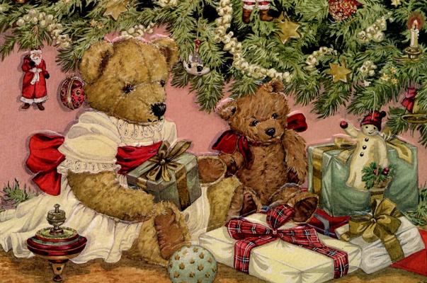 Рождественская открытка 2002
