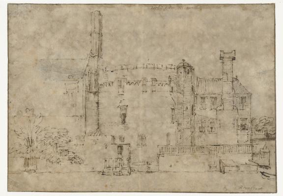 Рембрандт Харменс ван Рейн. Башня в Амстердаме
