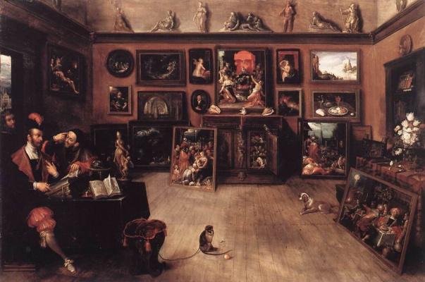 Frans Franken the Younger. Art dealer gallery