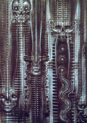 Hans Rudolph Giger. NEW YORK CITY