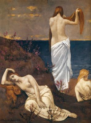 Pierre Cecil Puvi de Chavannes. Red-haired beauty