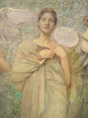 Thomas Wilmer Dewing. Plot 8