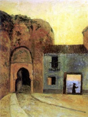 Дарио де Регойос. The door
