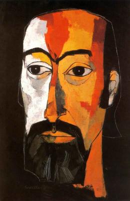 Освальдо Гуаясамин. Портрет 36