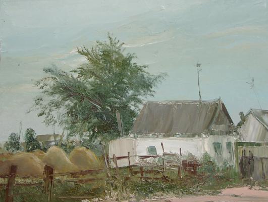 Elena Valyavina. House in the village