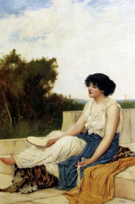 Оливер Рис. Девушка на балконе
