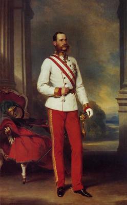 Франц Ксавер Винтерхальтер. Иосиф I Император Австрии
