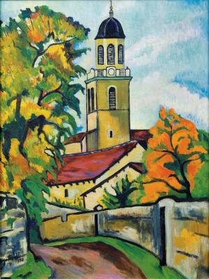 Suzanne Valadon. Church in Irigny
