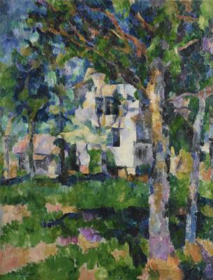 Vasily Vasilievich Rozhdestvensky. Summer landscape