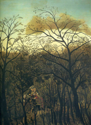 Henri Rousseau. A date in the woods