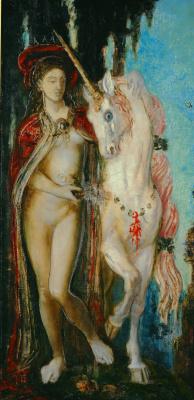 Gustave Moreau. Unicorn
