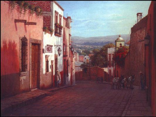 Улица Квебрада