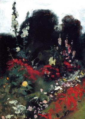 John Singer Sargent. Area in the garden