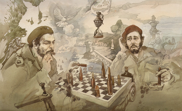 Yuri Laptev. The game of chess