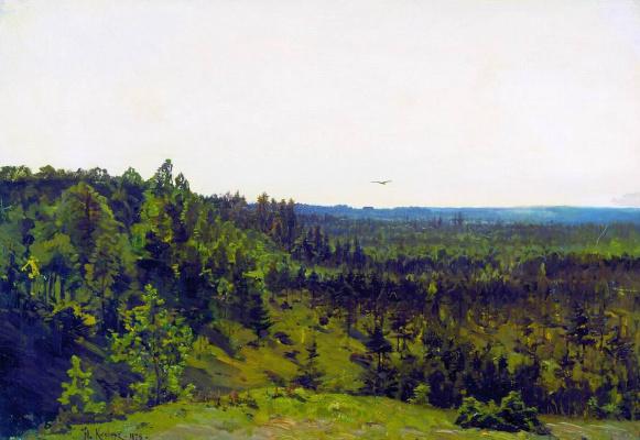 Julius Klever. Low forest