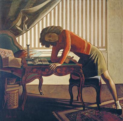 Balthus (Balthasar Klossovsky de Rola). Solitaire
