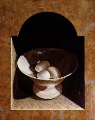 Анри Бол. Натюрморт с чашей