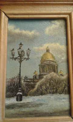 Koroleva Tatyana. Winter Isaac