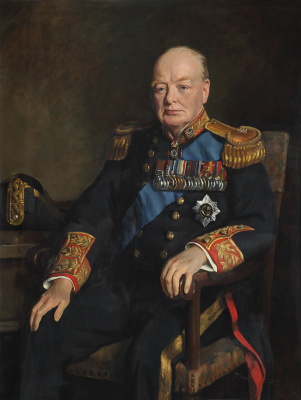 John Loftus Lee-Pemberton. Sir Winston Churchill, Lord Governor of the Five Ports