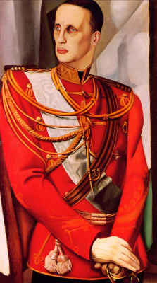 Tamara Lempicka. Portrait of Grand Duke Gabriel