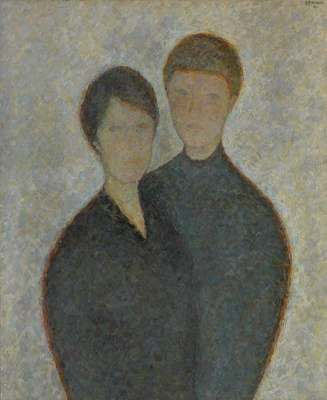 Vladimir Grigorievich Weisberg. Portrait of children